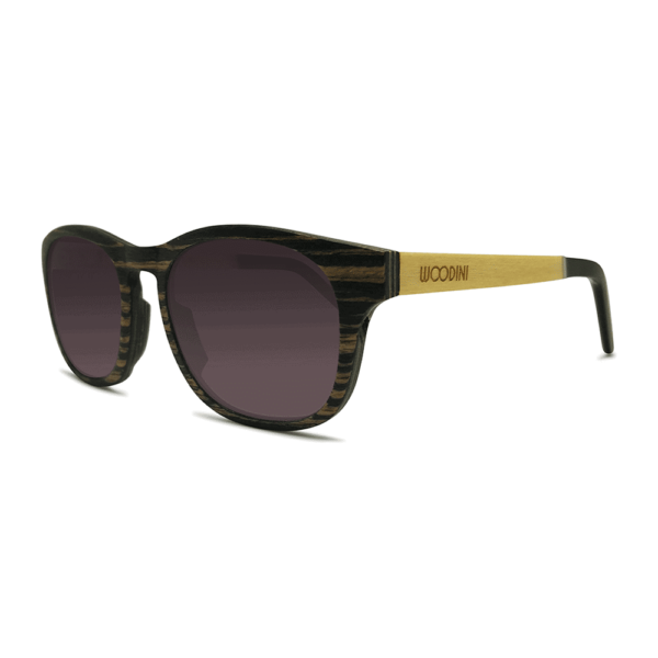 Apoidea - Side | Wooden Sunglasses | Mr. Woodini Eyewear