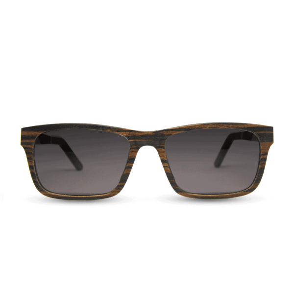 Banff - Front | Wooden Sunglasses | Mr. Woodini Eyewear