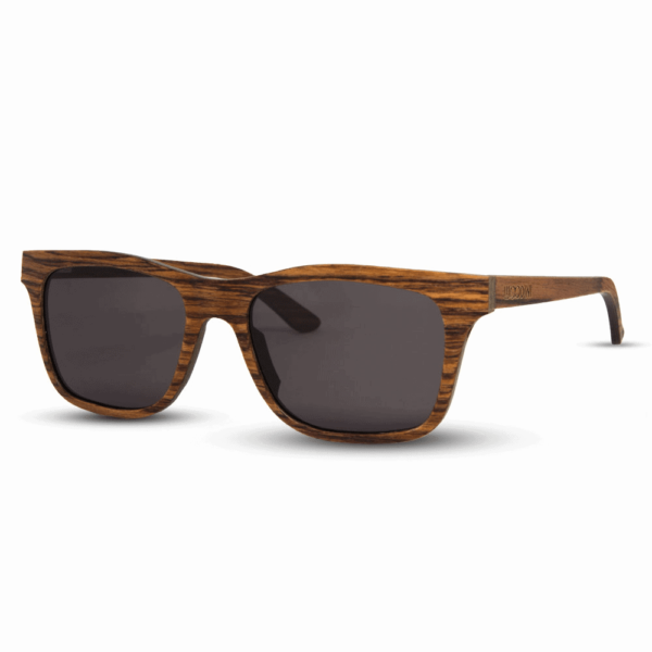 Brownie - Side | Wooden Sunglasses | Mr. Woodini Eyewear