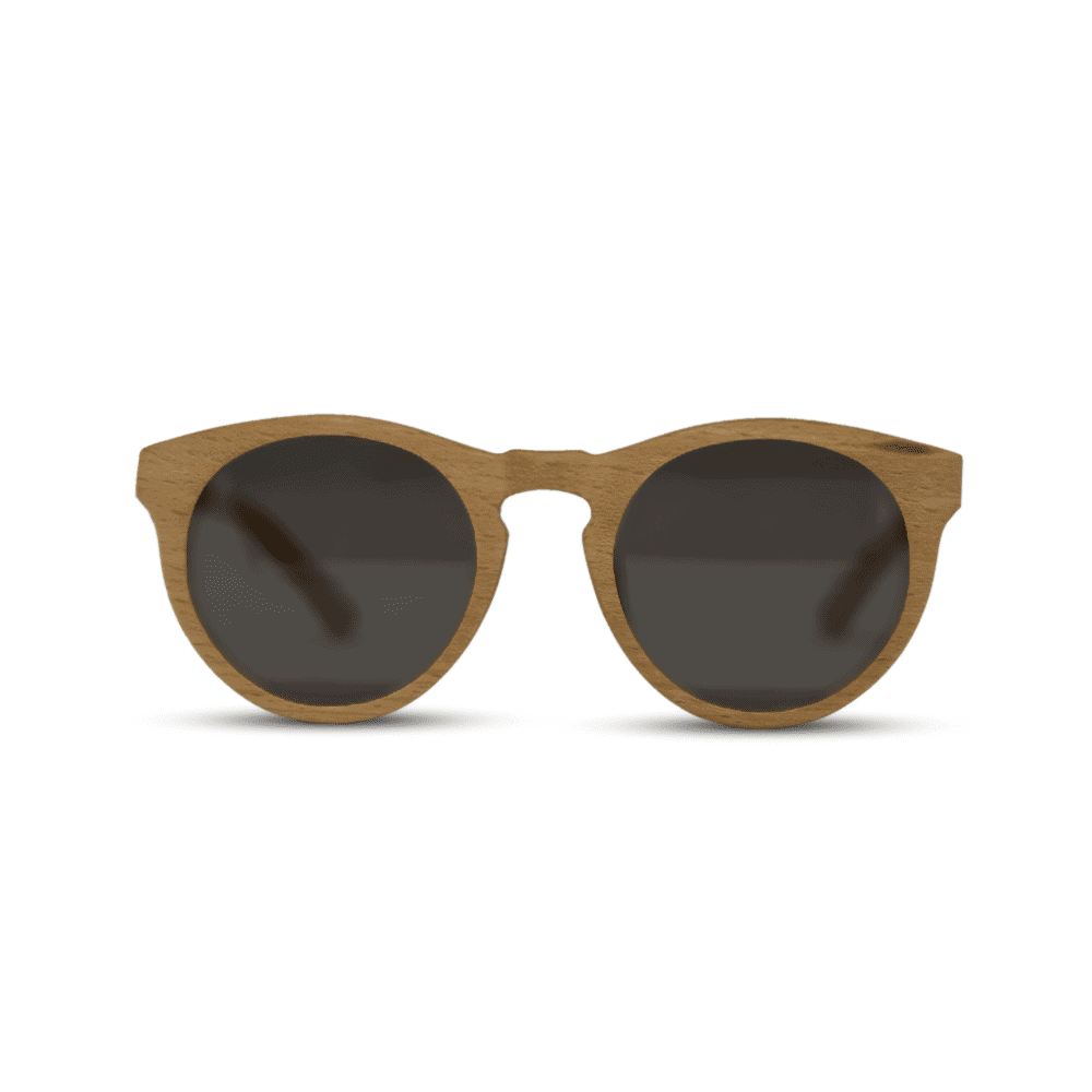 Dragon Beach wood - front | Wooden sunglasses | Mr. Woodini Eyewear