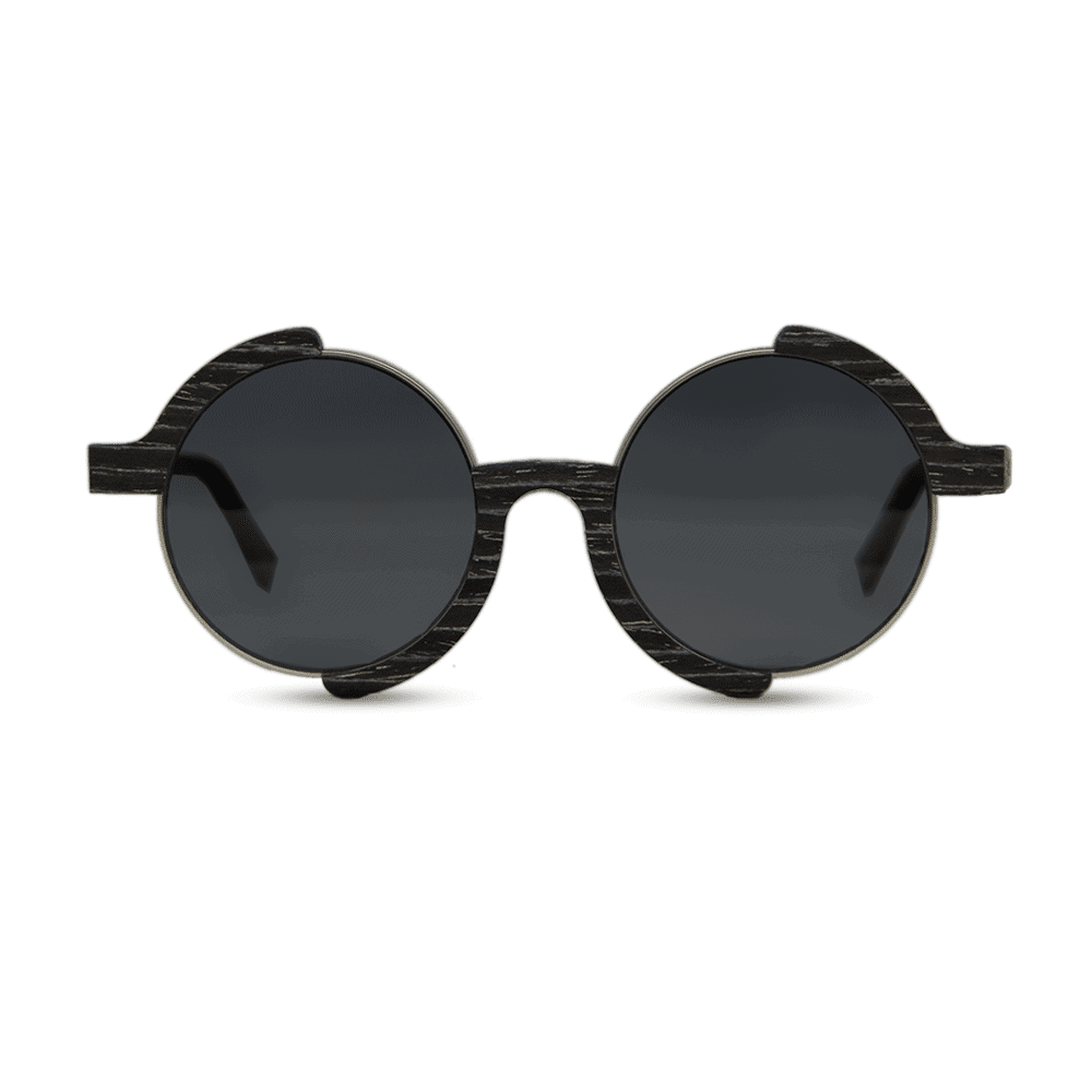 Madness - Black apricot - Front | Mr. Woodini Eyewear