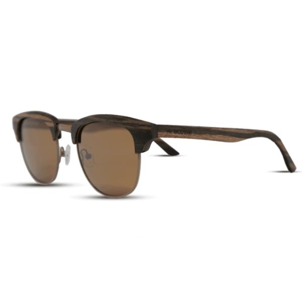 Timber Ebony - side | Wood Sunglasses | Mr. Woodini Eyewear