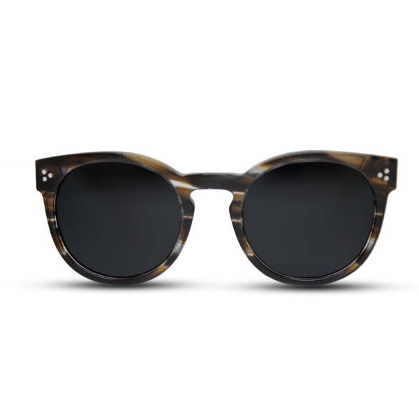 Amber - Mr. Woodini Eyewear -  Acetate with Wood Sunglasses
