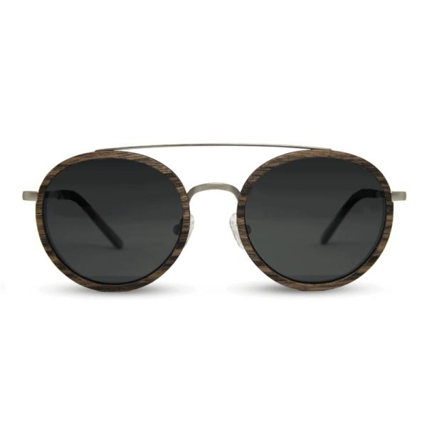 Arbol - Wood and metal sunglasses - Mr. Woodini Eyewear