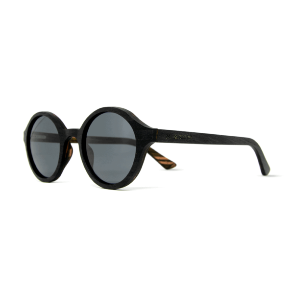Arishima Black Ebony - Wood Sunglasses | Mr. Woodini Eyewear