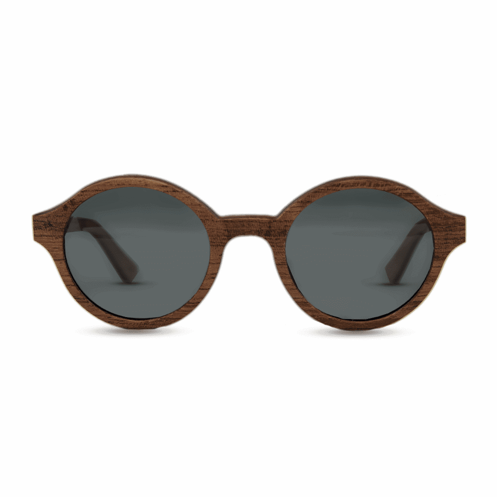 Arishima rosewood - front | Wood Sunglasses | Mr. Woodini Eyewear
