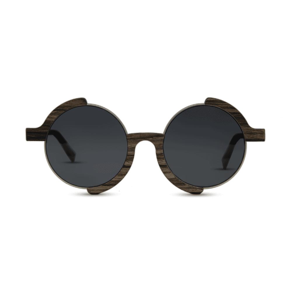 Madness - Swiss walnut - front | Mr. Woodini Eyewear