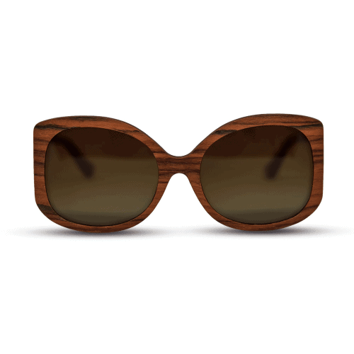 Mr. Woodini - Rosee - Wooden Sunglasses