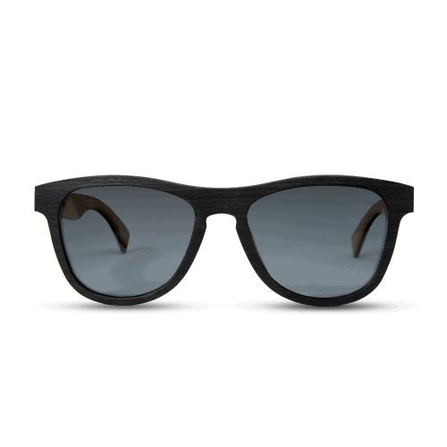 Cobra- Black-Ebony - mr-woodini - Wooden sunglasses