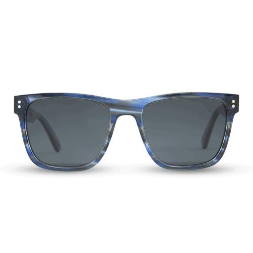 Exuma Blue Amber  - Acetate sunglasses - mr. woodini