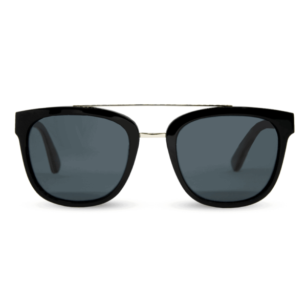 piranha Black - accetet and wood sunglasses