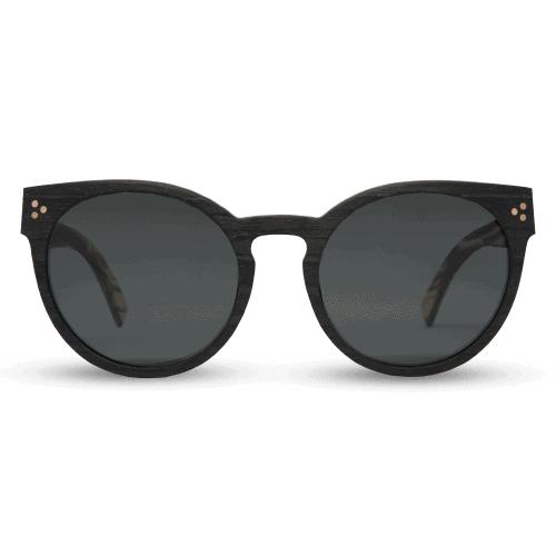 Marita Black - Wooden Sunglasses | Mr. Woodini Eyewear