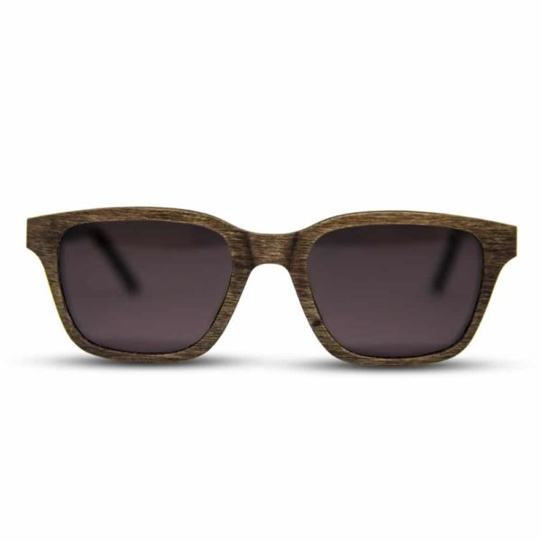 Sundarbans - Front | Wooden Sunglasses | Mr. Woodini Eyewear