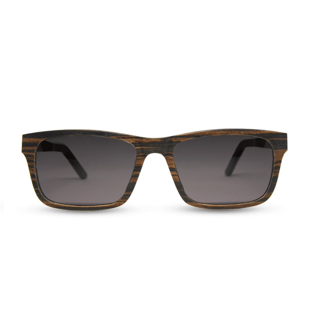 Banff - Front | Wooden Sunglasses | Mr. Woodini Eyewear