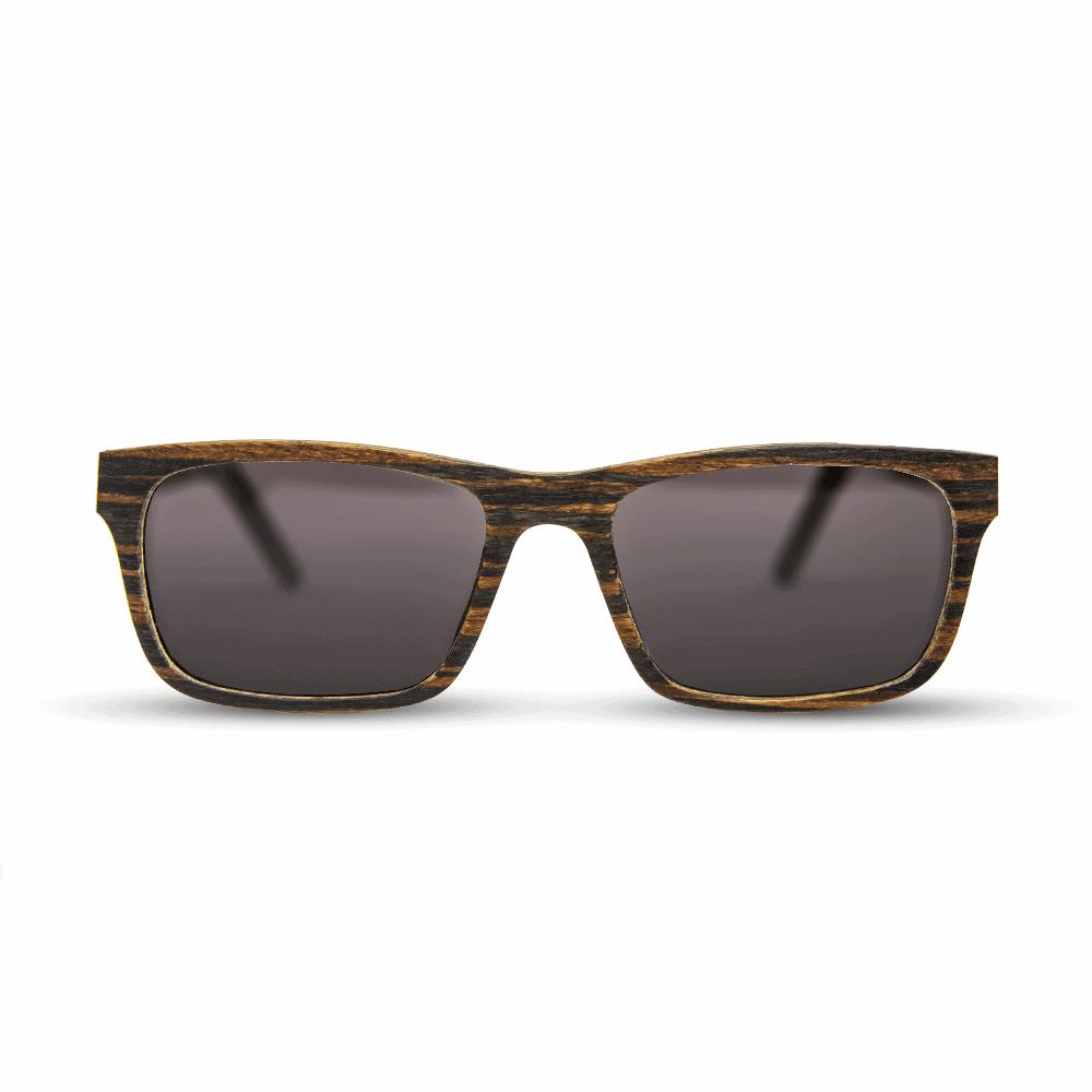 Banff - Front   Wooden Sunglasses   Mr. Woodini Eyewear