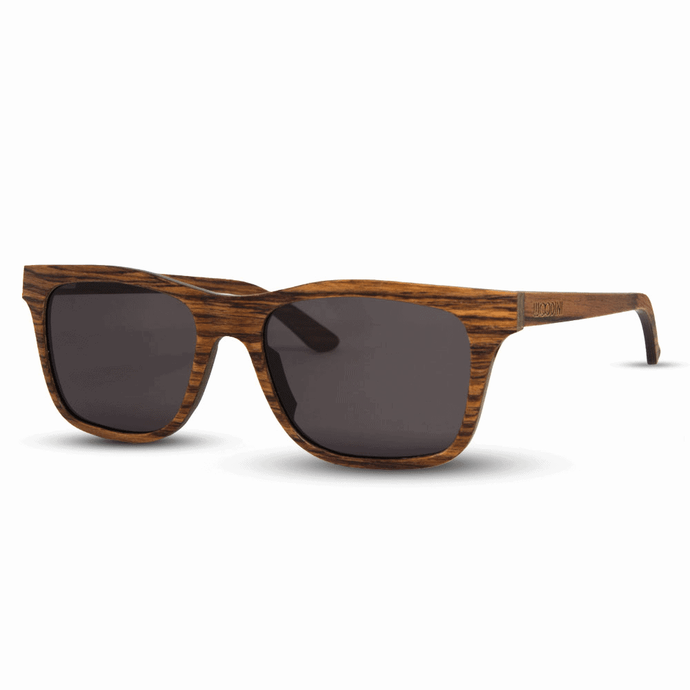 Brownie - Side | Wooden Sunglasses | Mr. Woodini Eyewear