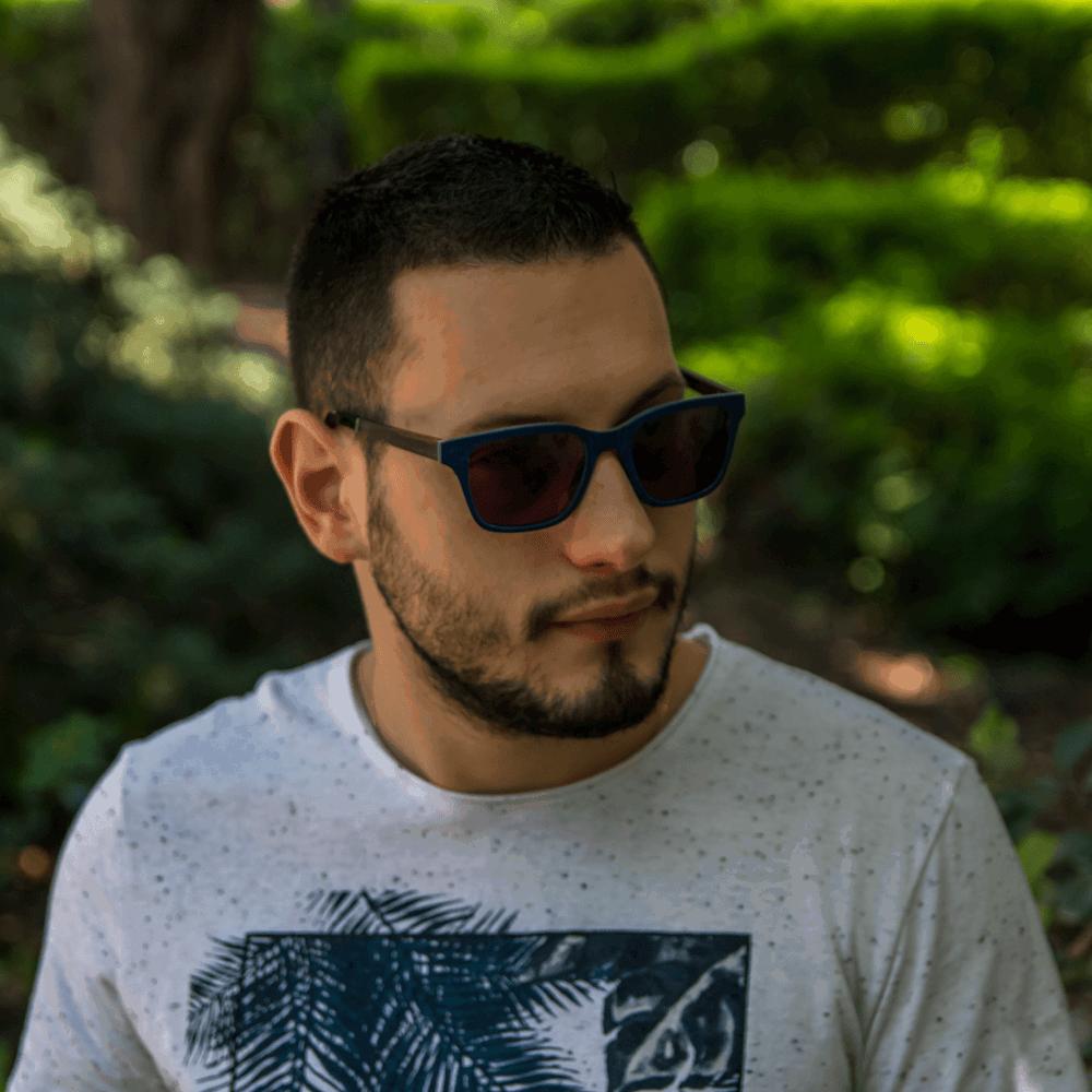 Mr. Woodini - Pacific - Wooden sunglasses