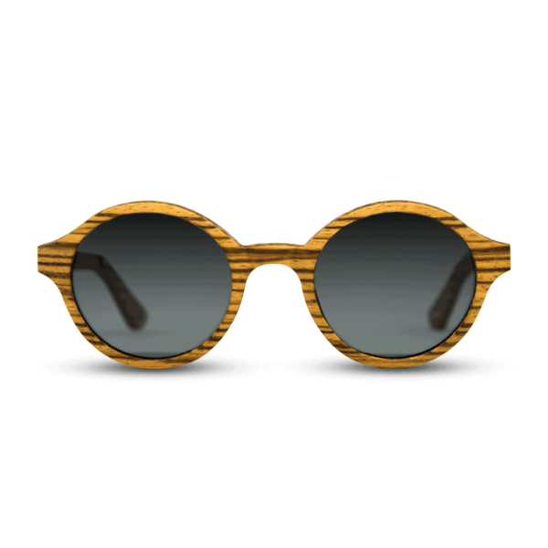Arishima Zebra wood - Wooden Sunglasses - Mr. Woodini