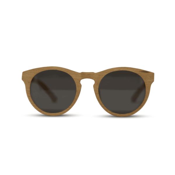 Dragon Beach wood - front | Wooden sunglasses | Mr. Woodini Eyewear