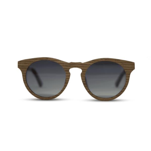 Dragon Black Walnut - front | Wooden sunglasses | Mr. Woodini Eyewear