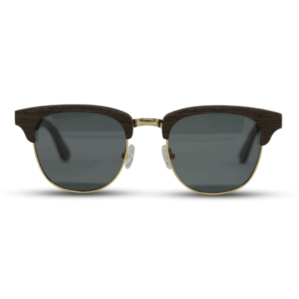 Timber Wenge - front | Wood Sunglasses | Mr. Woodini Eyewear