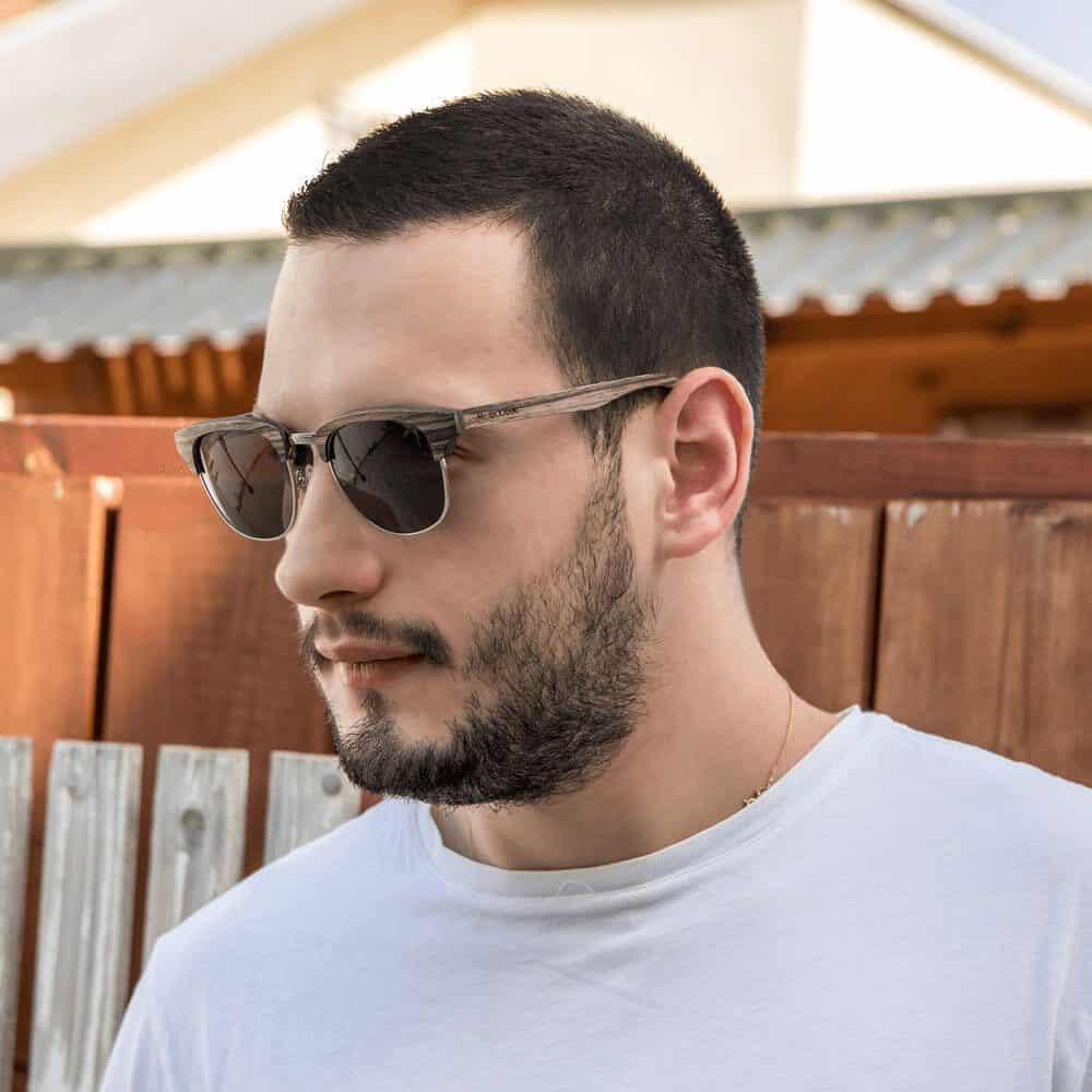 Wooden Sunglasses - Mr. Woodini Eyewear | Eco-Fashion