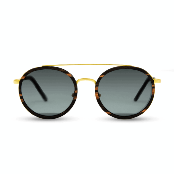 Arbol - Wood and metal sunglasses - Mr. Woodini Eyewear