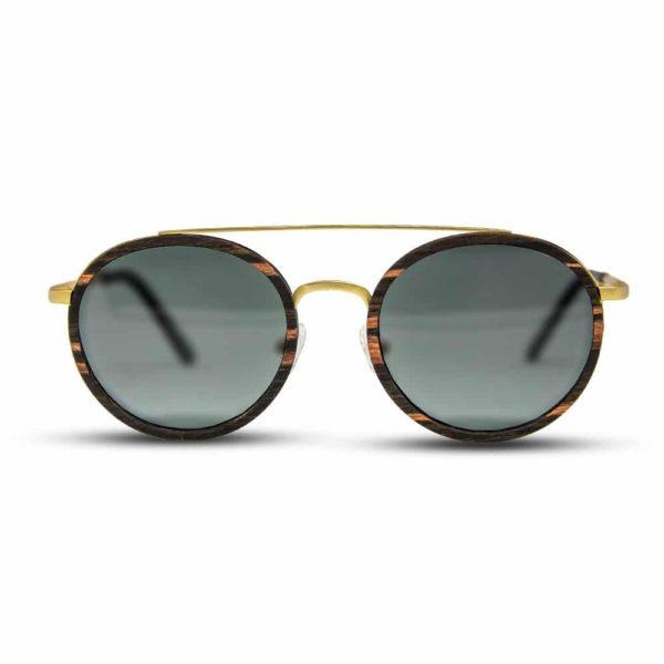 Arbol Ebony - Wood & Metal Sunglasses | Mr. Woodini Eyewear