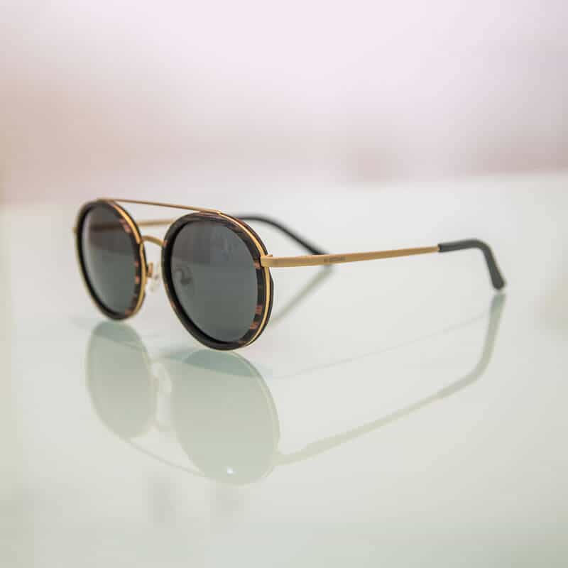 Arbol - Metal and wood sunglasses - Mr. Woodini