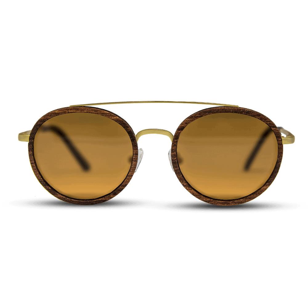 Arbol - Wood & Metal Sunglasses - Mr. Woodini