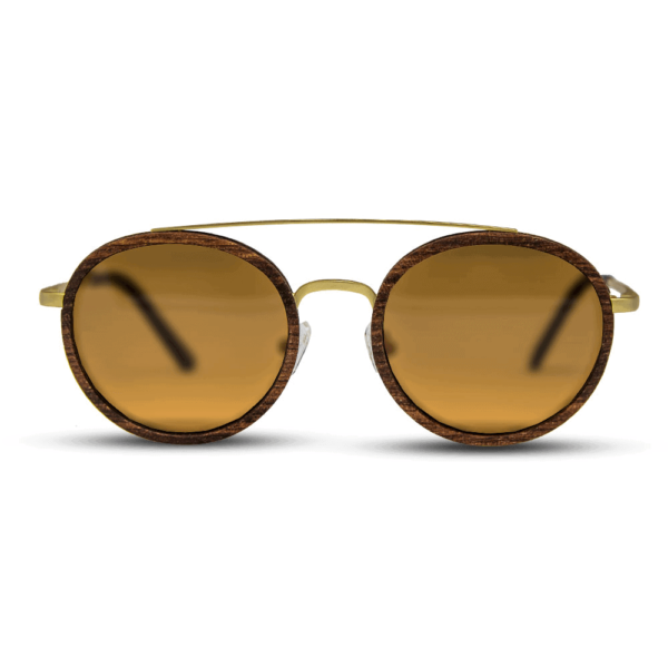 Arbol - Wood & Metal Sunglasses - Mr. Woodini