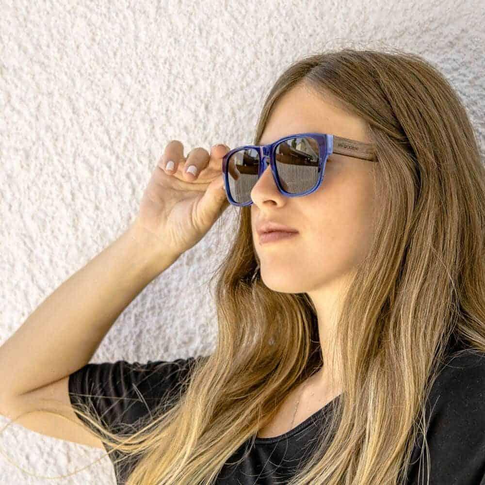 Caribbean - Acetate & Wood Sunglasses - Mr. Woodini