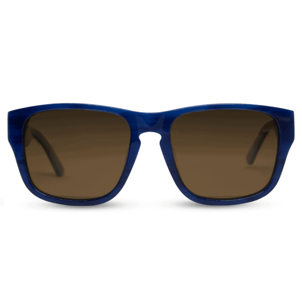 Caribbean Mr. Woodini - Acetate with Wood Sunglasses