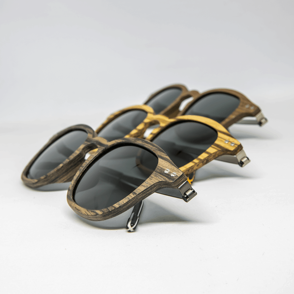 flip - Mr. Woodini - Wood & Metal sunglasses