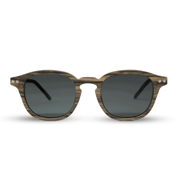 flip swiss walnut - Mr. Woodini - Wood & Metal sunglasses