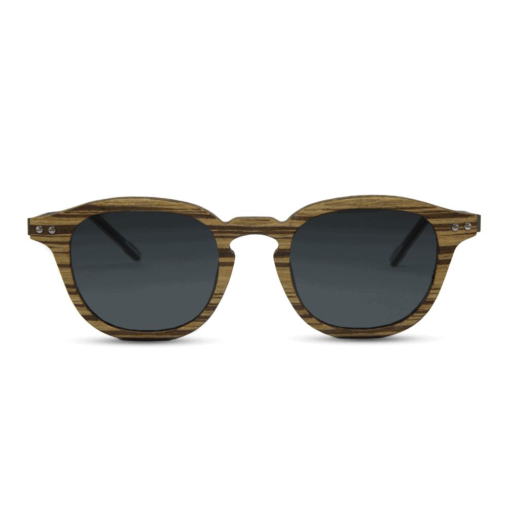 Flip sunglasses - ZebraWood