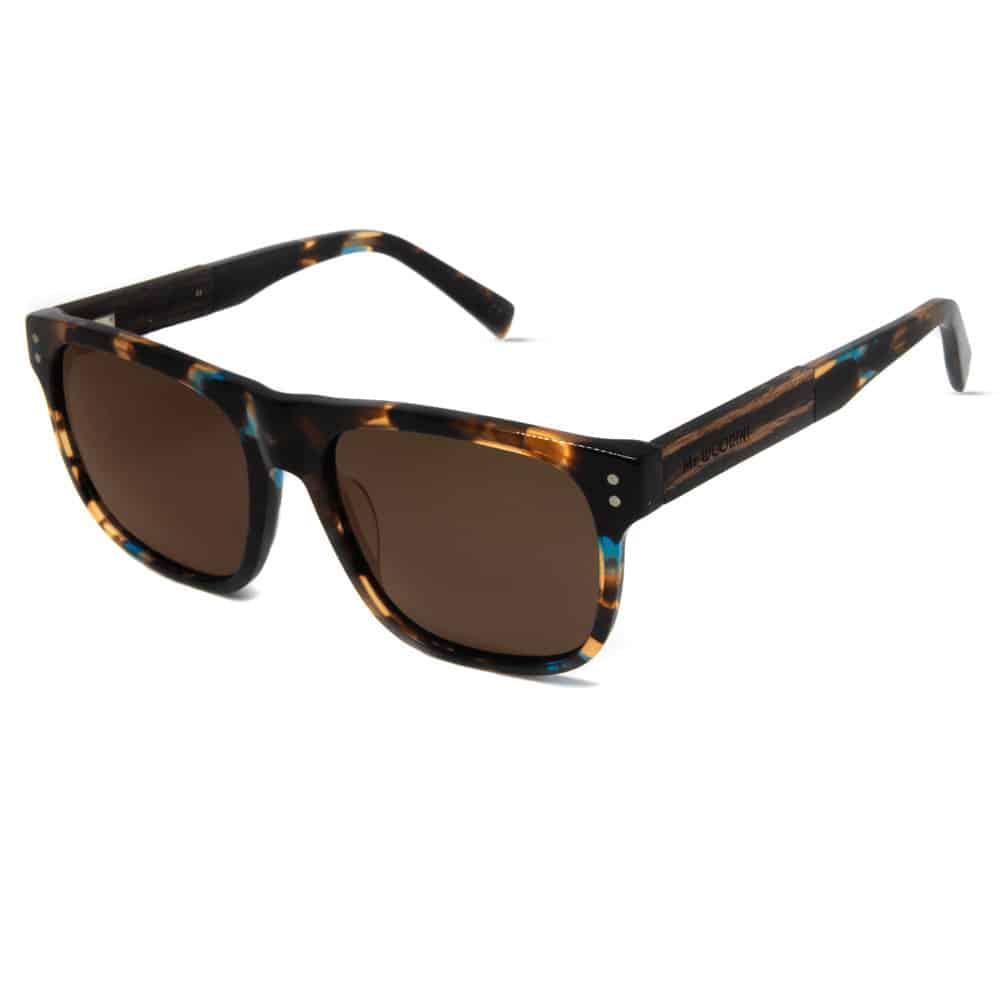Giant - Acetate & Wood Sunglasses - Mr. Woodini