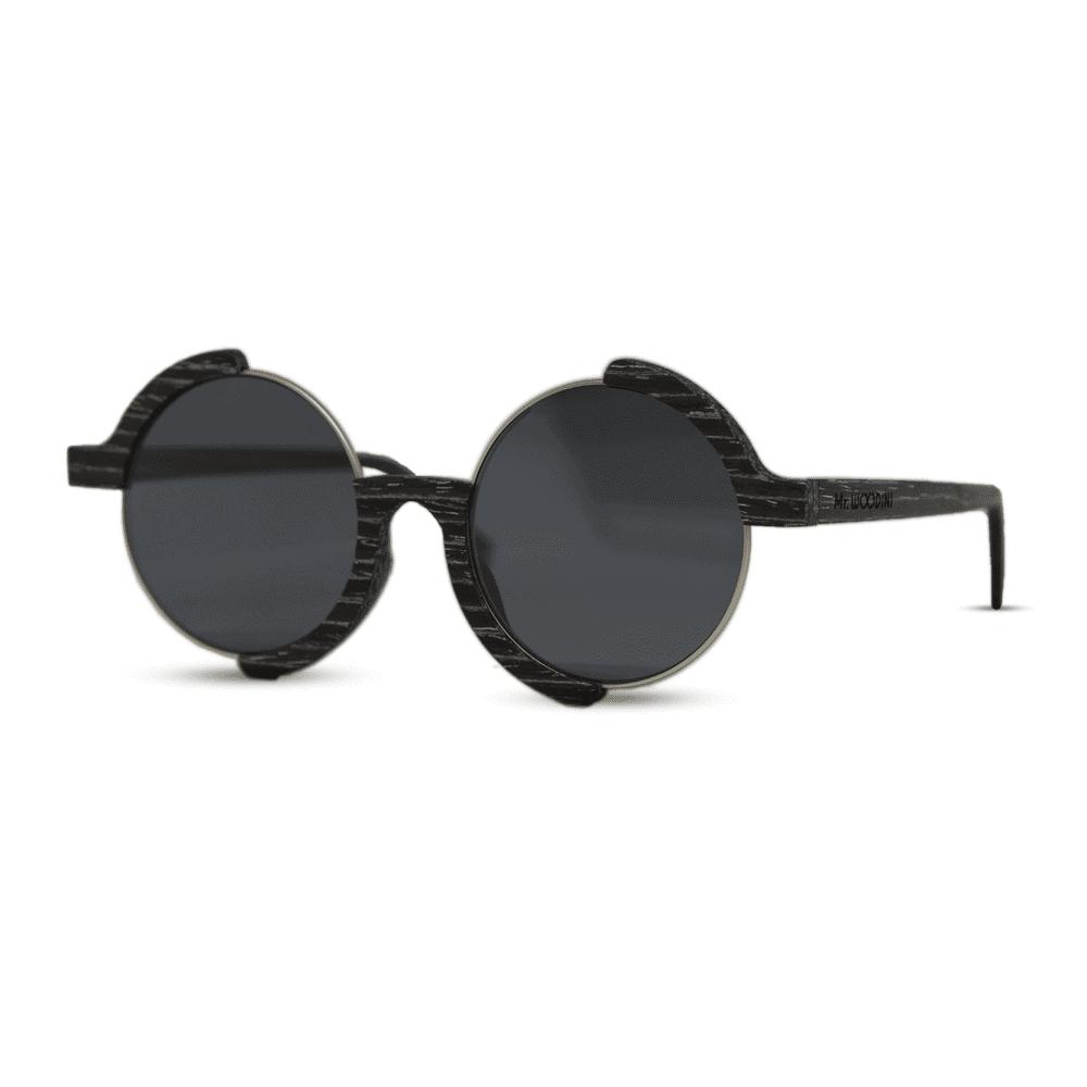 Madness - Black apricot - side | Mr. Woodini Eyewear
