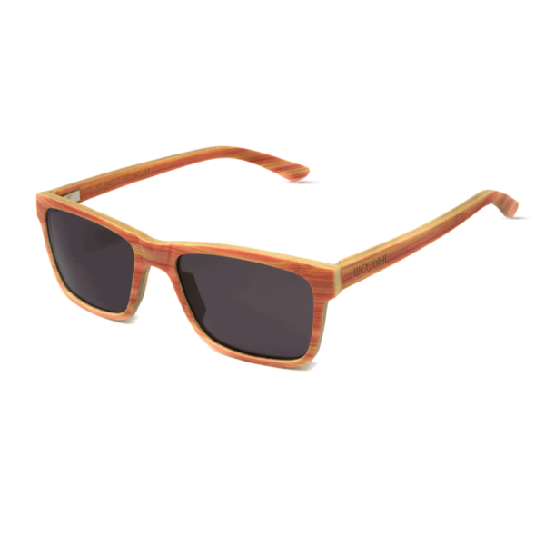 Mr. Woodini Eyewear - Candy - Wooden sunglasses