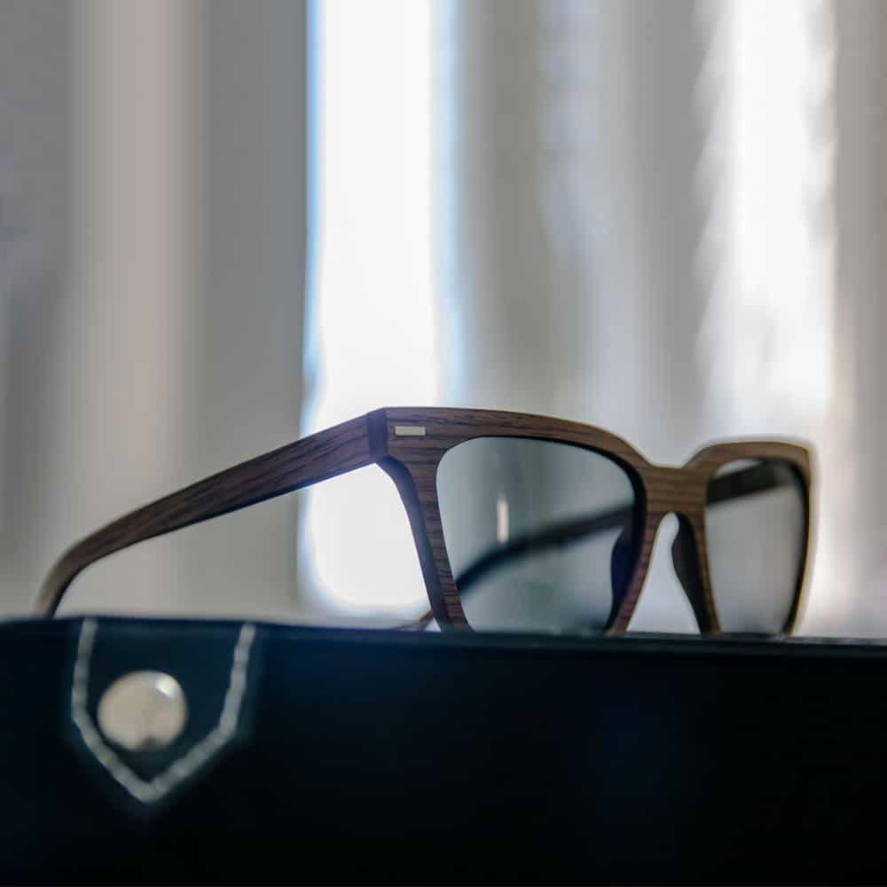 pyramid - Wooden Sunglasses - Mr. Woodini