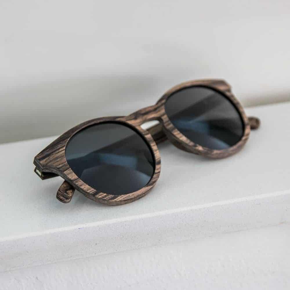 resin mr woodini - wooden sunglasses