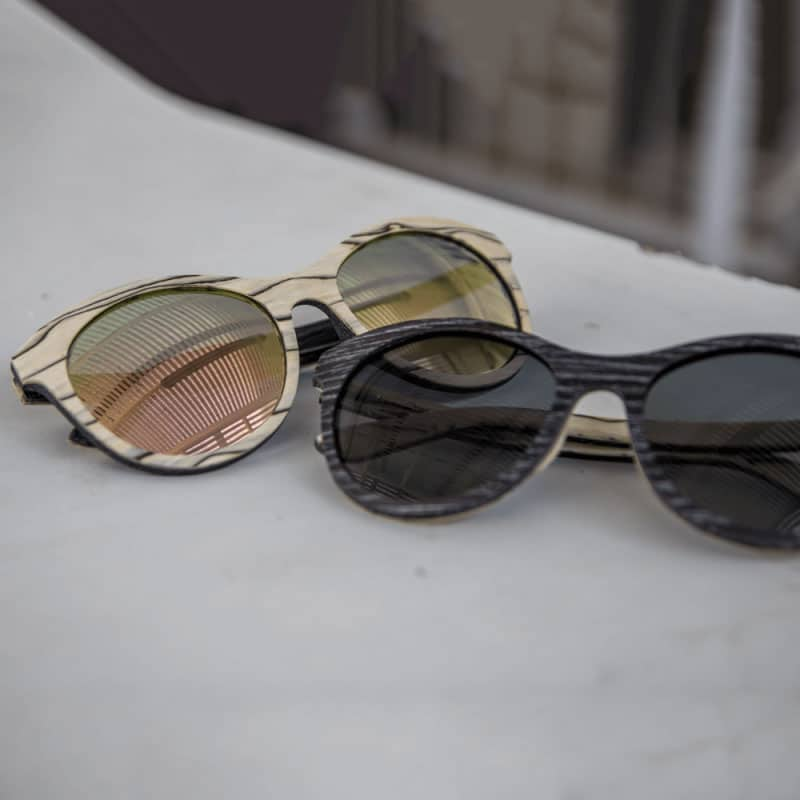 Lady owl - Wooden Sunglasses | Mr. Woodini Eyewear