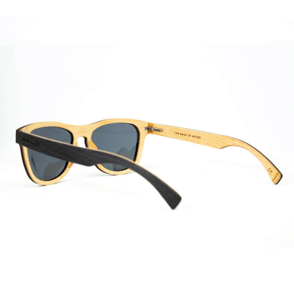 Cobra- Black-Ebony - mr-woodini - Wooden sunglasses