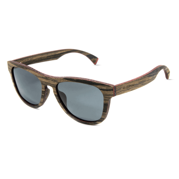 Cobra Swiss Walnut - Mr. Woodini - Wooden sunglasses