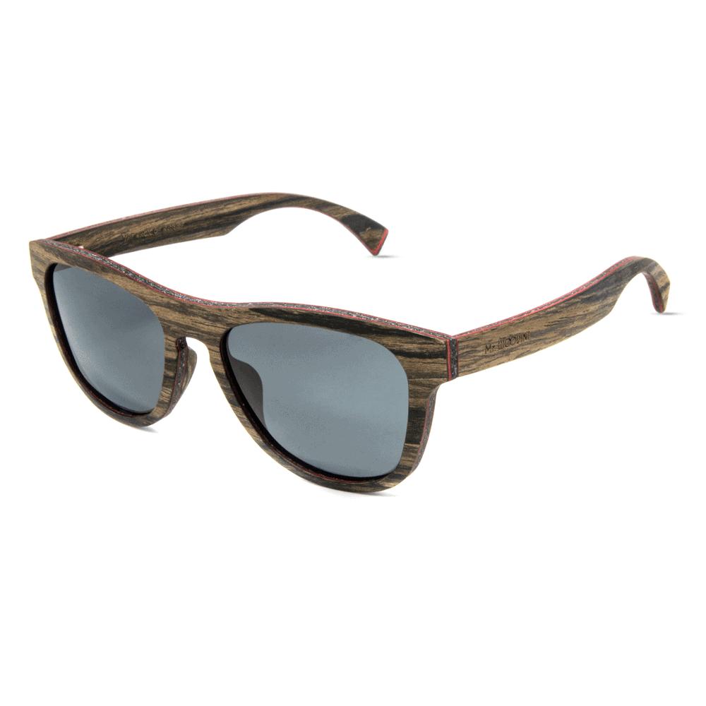 Cobra Swiss Walnut - Mr. Woodini - Wooden sunglasses