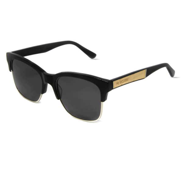 Mr. Woodini - Air-force - Acetate & Maple Wood Sunglasses