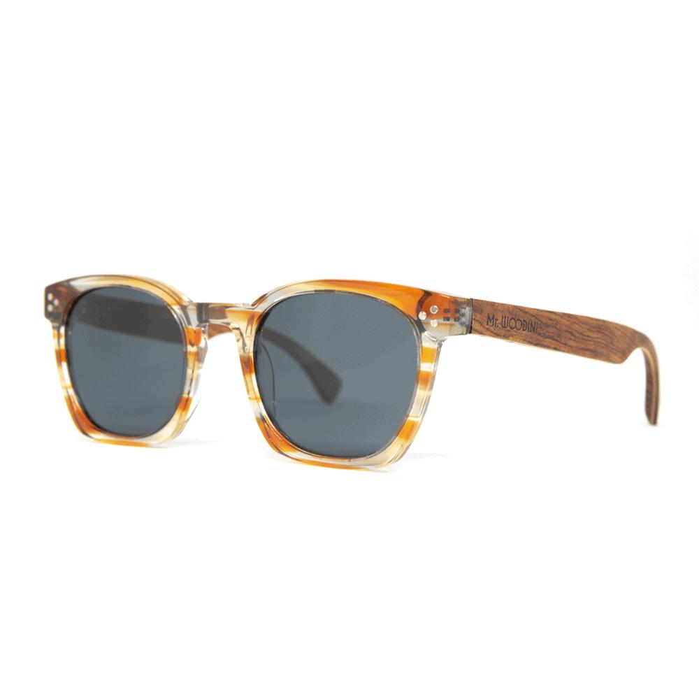 Myth Orange Acetate & Wood Sunglasses - Mr. Woodini Eyewear