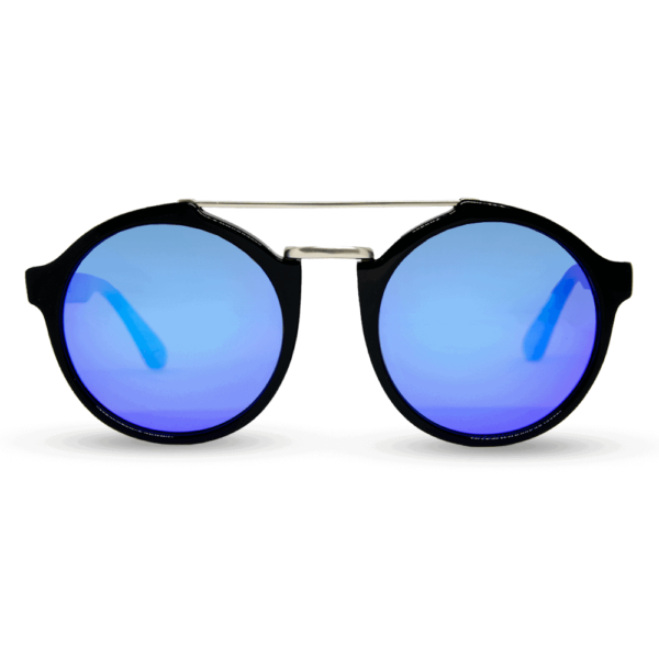 roxbury Black - accetet and wood sunglasses