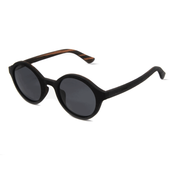 arishima Black Ebony - mr. woodini - wooden sunglasses