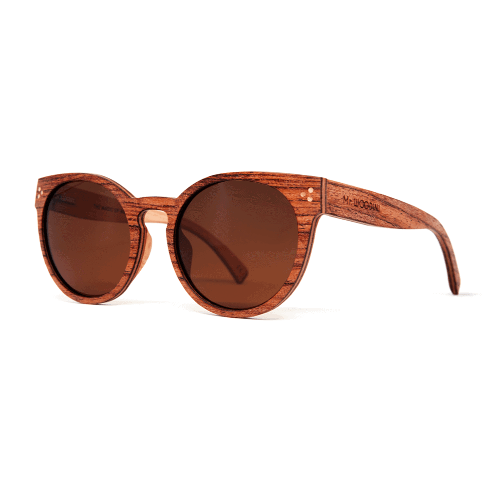 Marita Rosewood - Wooden Sunglasses | Mr. Woodini